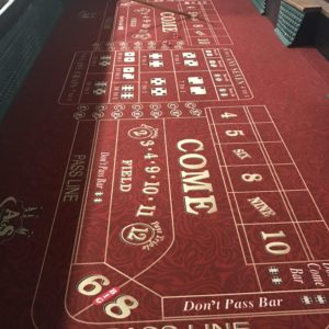 craps table rental Cincinnati Dayton Ohio