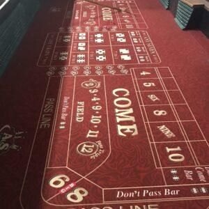 craps table rental Cincinnati Dayton Ohio