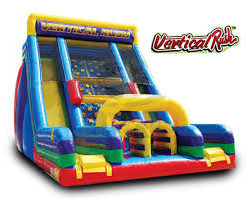Interactive Vertical Rush Inflatable Slide Party Rental Dayton & Cincinnati Ohio