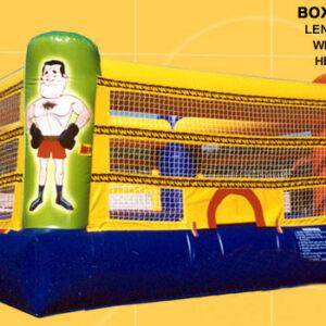 Interactive Inflatable Boxing Ring Rental Dayton