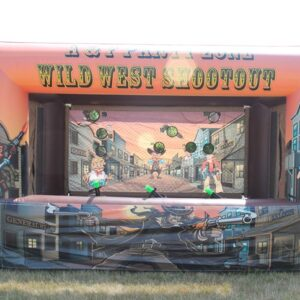 Interactive Inflatable Shooting Gallery Party Rental Dayton & Cincinnati