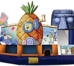 Inflatable Bounce House Rental Sponge Bob 5n1 Dayton