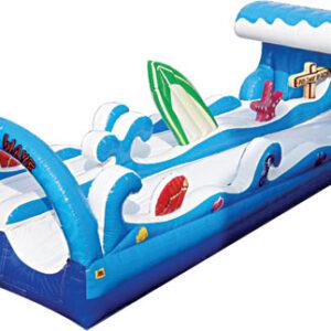 Interactive Inflatable Water Slide Surf the Wave Party Rental Dayton & Cincinnati Ohio