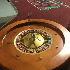 roulette table rentals Cincinnati Dayton Ohio