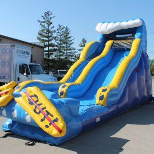 Interactive Inflatable Wipeout Slide Rental Dayton & Cincinnati Ohio