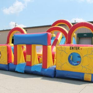Interactive Inflatable Adrenaline Rush Obstacle Course Party Rental Dayton & Cincinnati