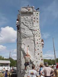 Climbing Rock Wall Rental