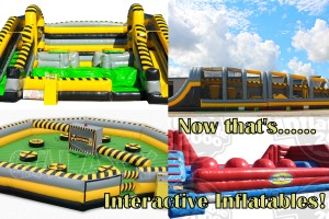 Interactive Inflatable Rentals Collage