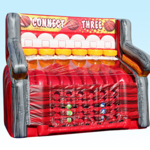 giant connect four basketball game rental Cincinnati Dayton Oh