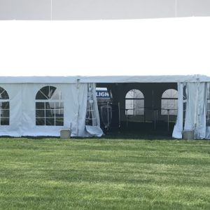 40 wide frame tent rental