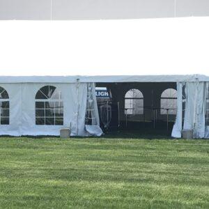 40 wide frame tent rental