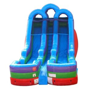 double lane rainbow water slide rental