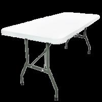 Plastic table rental