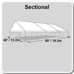 40 x 60 frame tent