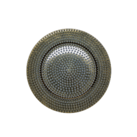 Gold Hammered Charger Plate