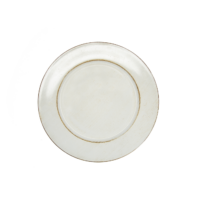 Rustic Ivory Charger Plate