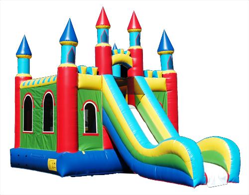 Castle Slide Bounce House Rental