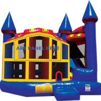5 in 1 combo bounce house rental