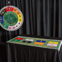 Derby-Horse wheel with betting table