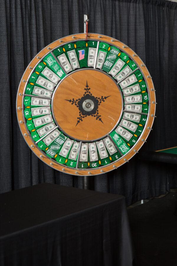 Casino Money Wheel Rental