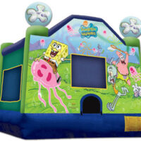 Bounce House Rental 15×15 Sponge Bob Jumper