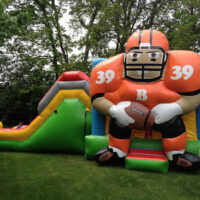 Inflatable Bounce House Rental Bengal Bouncer Combo