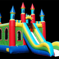 Inflatable Bounce House Rental Castle Slide Dayton