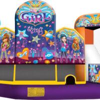 Inflatable Bounce House Rental Girl Thing Combo Dayton