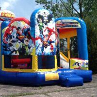 Inflatable Bounce House Rental Justice League Combo Dayton
