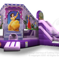Inflatable Bounce House Rental Princess Castle Club