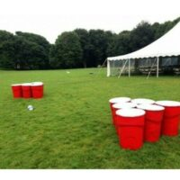 life sized water pong rental