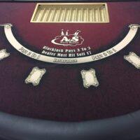 black jack table rentals Cincinnati Dayton Ohio