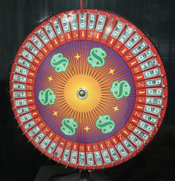 Prize wheel Rental