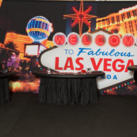 Las Vegas Backdrop Rental