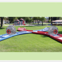 Criss Cross Collision Course and Human Hamster (Zorb) Ball Party Rental Dayton & Cincinnati