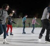 portable ice skating rink rental cincinnati and dayton ohio