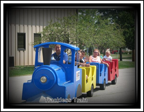 Trackless Train Party Rental Dayton & Cincinnati Ohio