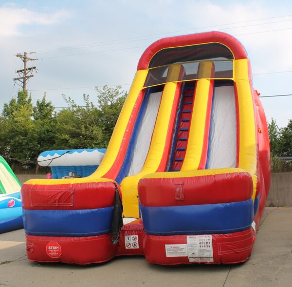 Interactive 24 Foot Giant Inflatable Slide Party Rental Dayton & Cincinnati Ohio