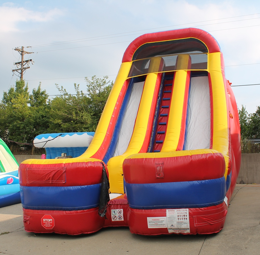 24 Foot Giant Inflatable Slide Party Rental Dayton
