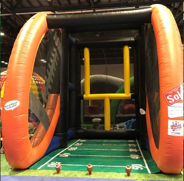 Inflatable Field goal challenge rental