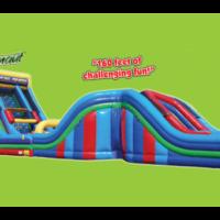Interactive Inflatable Juggernaut Obstacle Course Party Rental Dayton & Cincinnati Ohio