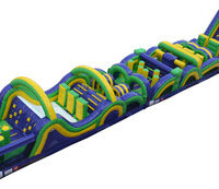 Inflatable Radical Run Obstacle Course Party Rental Dayton & Cincinnati Ohio