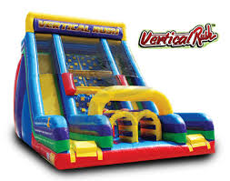 Interactive Vertical Rush Inflatable Slide Party Rental Dayton & Cincinnati Ohio