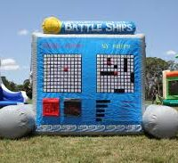 Life size game battle ship