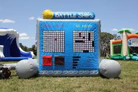 Life size game battle ship