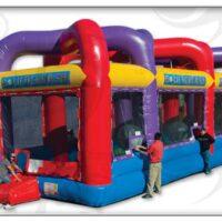 Interactive Inflatable boulder Dash Rental Dayton