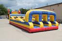 Interactive Inflatable Bungee Run 3 Lane Rental Dayton