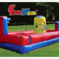 Interactive Inflatable Bungee Run First N Goal Rental Dayton