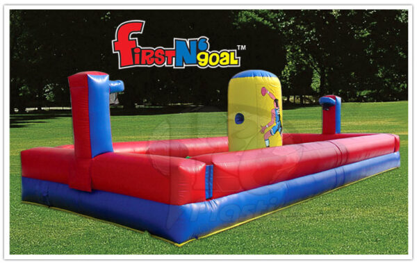 Interactive Inflatable Bungee Run First N Goal Rental Dayton