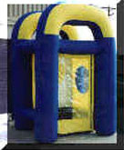 Inflatable Cash Cube Party Rental Dayton & Cincinnati Ohio